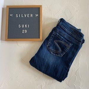 "Silver ""Suki"" Straight Jeans Size 29"